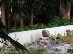 鹿供養石碑2